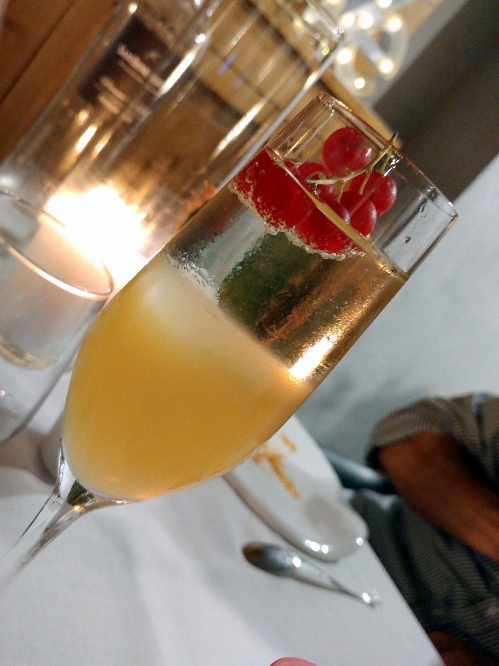 Ristorante 1Q84. Il cocktail di benvenuto di Giuseppe Ciccarelli