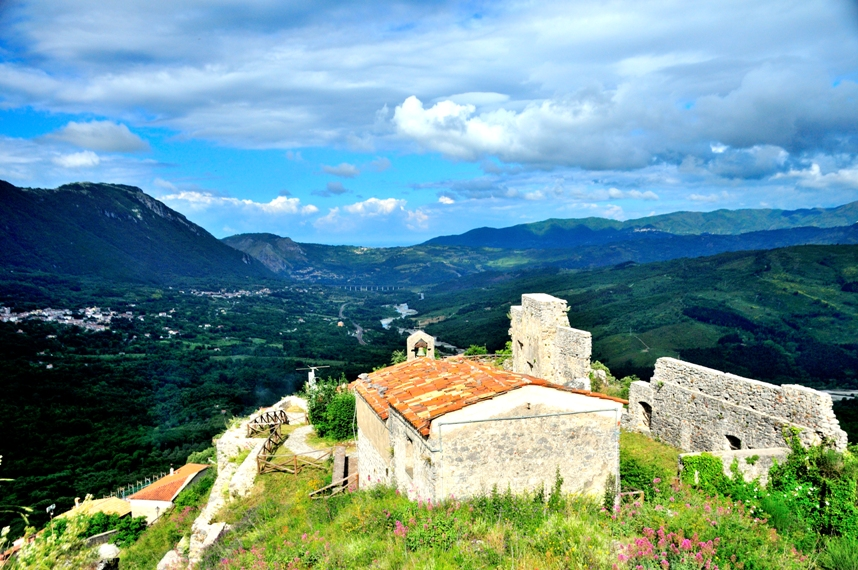 Roccagloriosa in Cilento