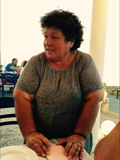 Teresa, ristoratrice greca