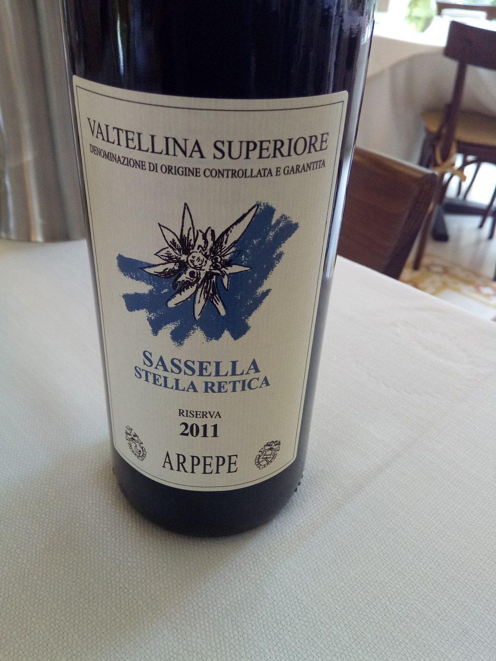 Trattoria Visconti, Sassella di Ar.Pe.Pe.