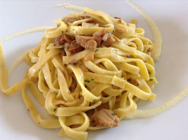 Trattoria Visconti, Tagliolini ai finferli