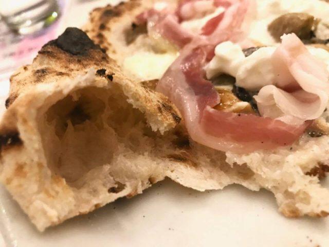 Vicè la pizza la struttura