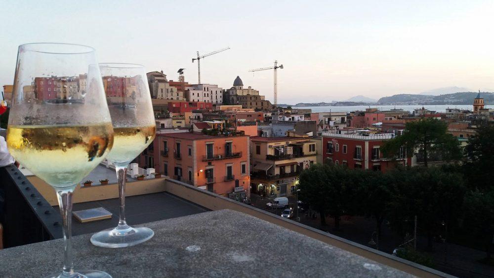 Vista da Maison Toledo Pozzuoli