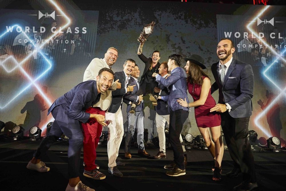 World Class Bartender of the Year 2017 Kaitlyn Stewart and the World Class Hall of Fame
