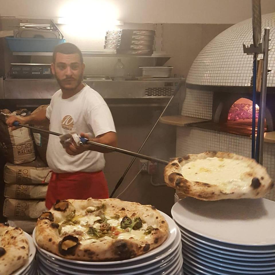 Il forno della Pizzeria 10 Diego Vitagliano