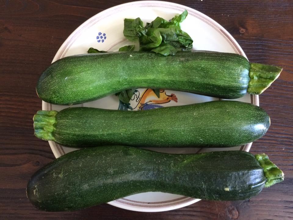 zucchine e basilico