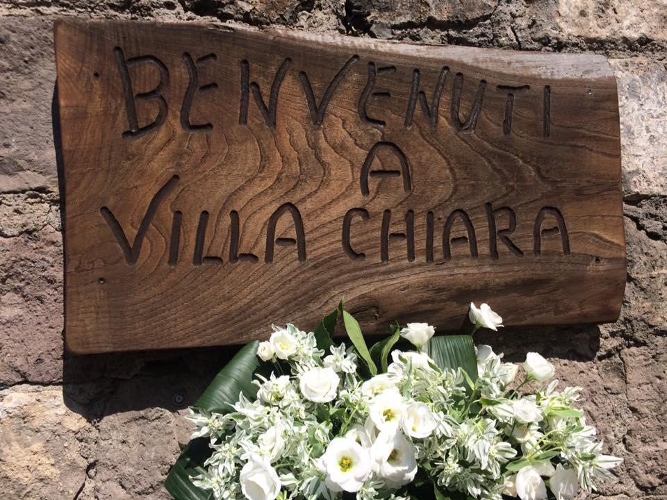 Villa Chiara, l'ingresso