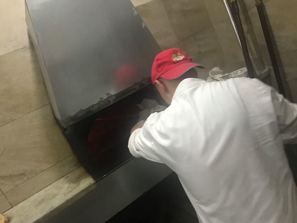 Pizzeria Il Monfortino, il forno