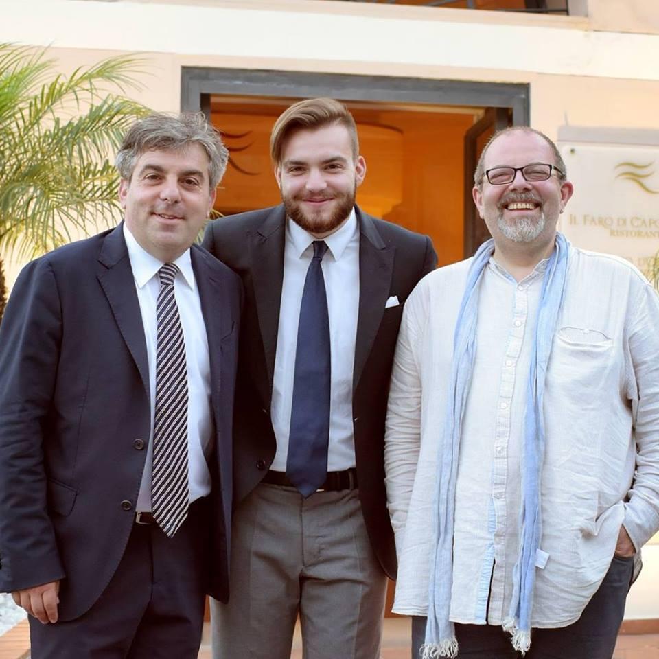 Bonny Ferrara con il padre Pio e lo zio