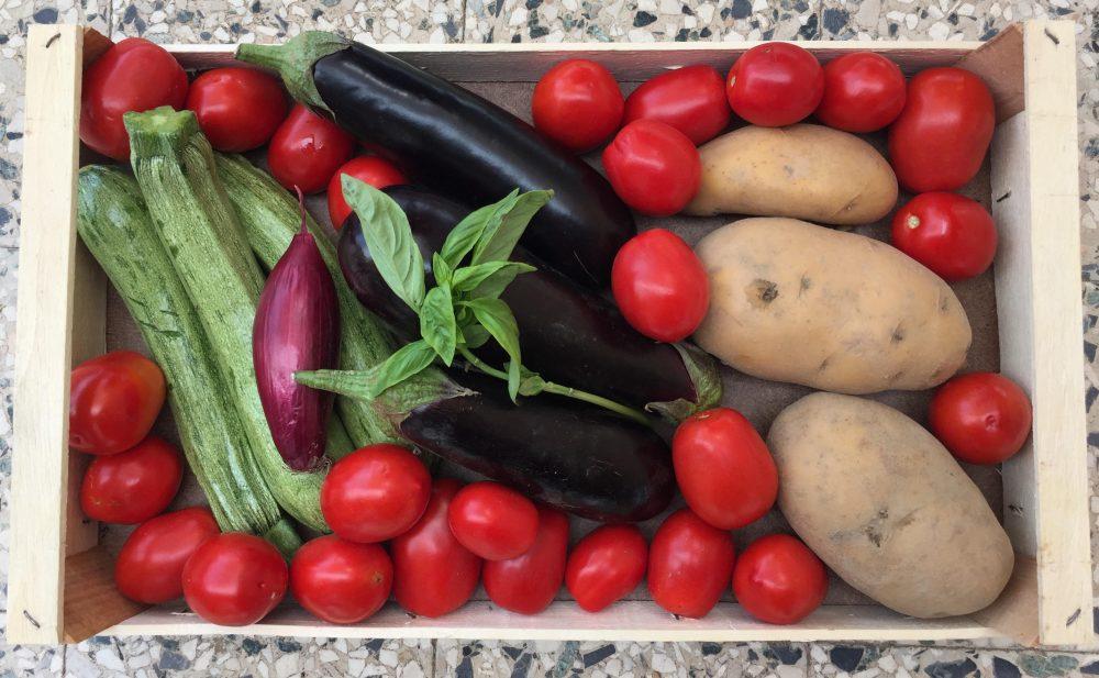 Melanzane, zucchine e patate mbuttunate alla cilentana, ingredienti
