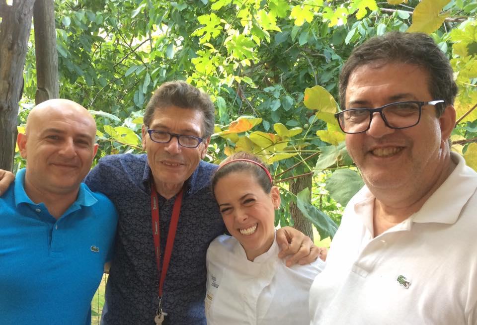 con Faby Scarica, Luigi Cremona e Albert Sapere