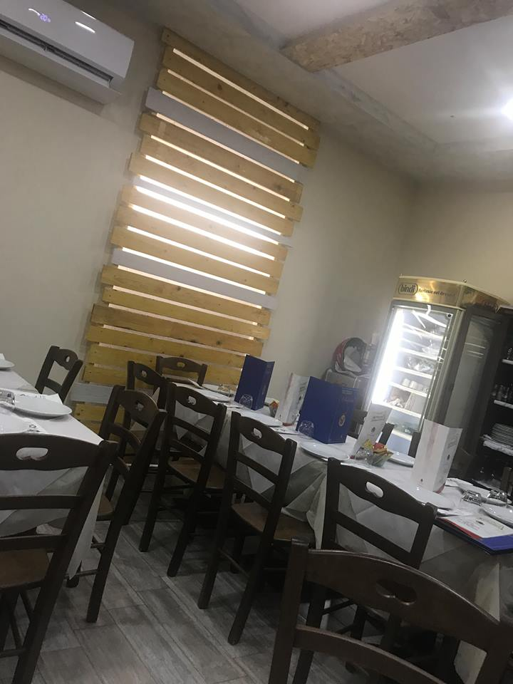 Pizzeria Il Monfortino, la sala