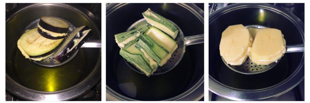 Melanzane, zucchine e patate mbuttunate alla cilentana