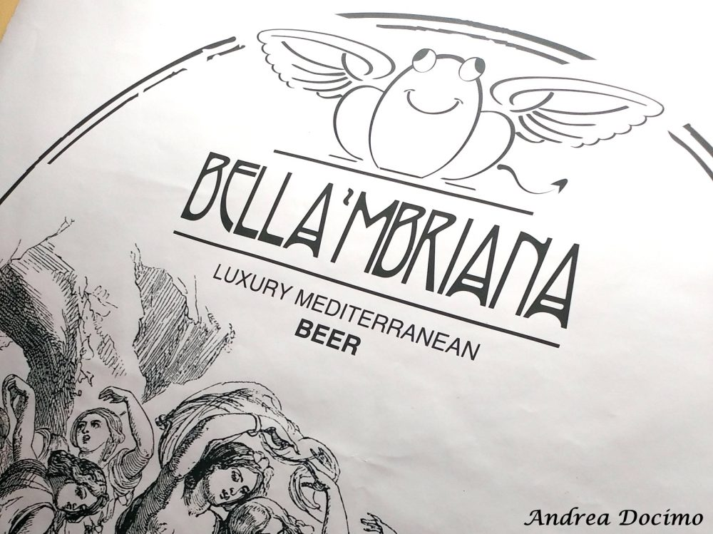 Birrificio Bella 'Mbriana Brewing a Nocera Inferiore. Il logo