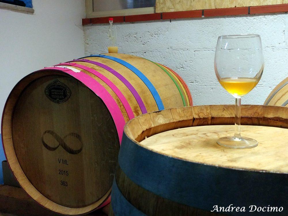 Birrificio Bella 'Mbriana Brewing a Nocera Inferiore. Le botti