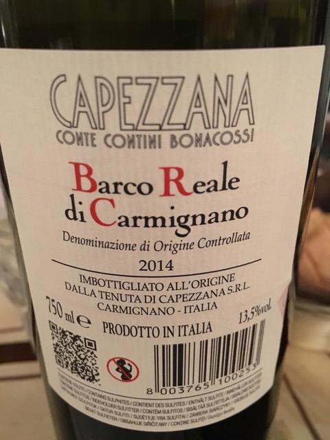 Bottega Peruzzi - Capezzana bottiglia