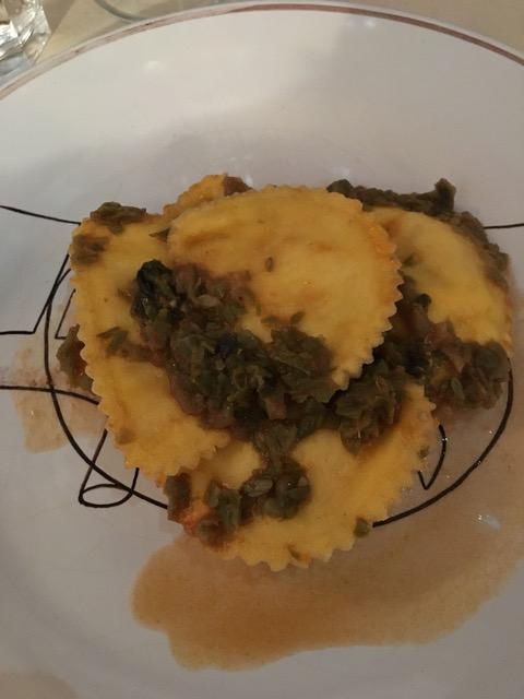 Bottega Peruzzi - ravioli Pienza