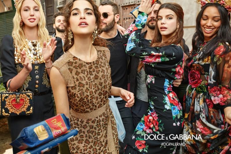Campagna D&G autunno-inverno 2017 2018 dal sito web www.dolcegabbana.it