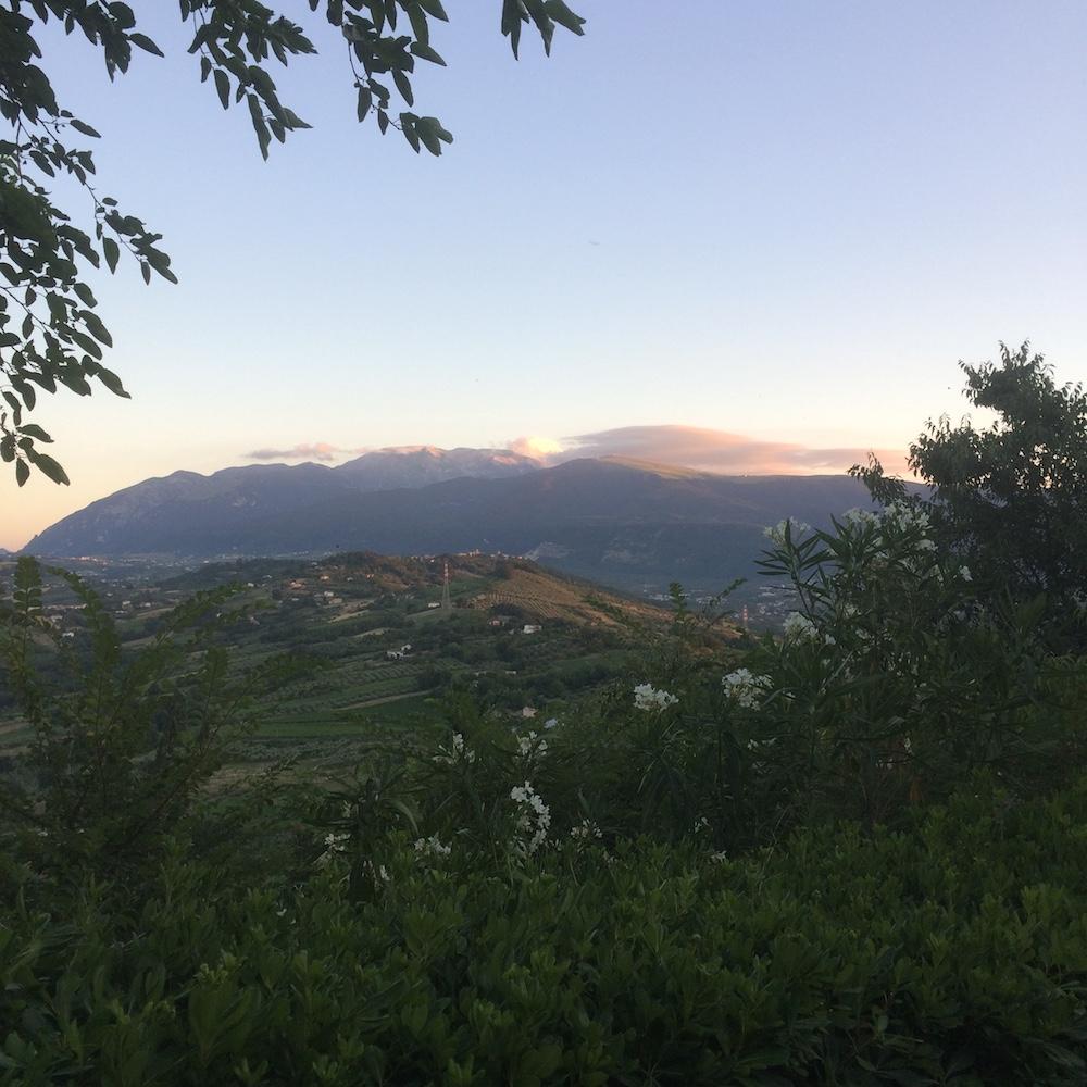 Castello di Semivicoli - paesaggio abruzzese