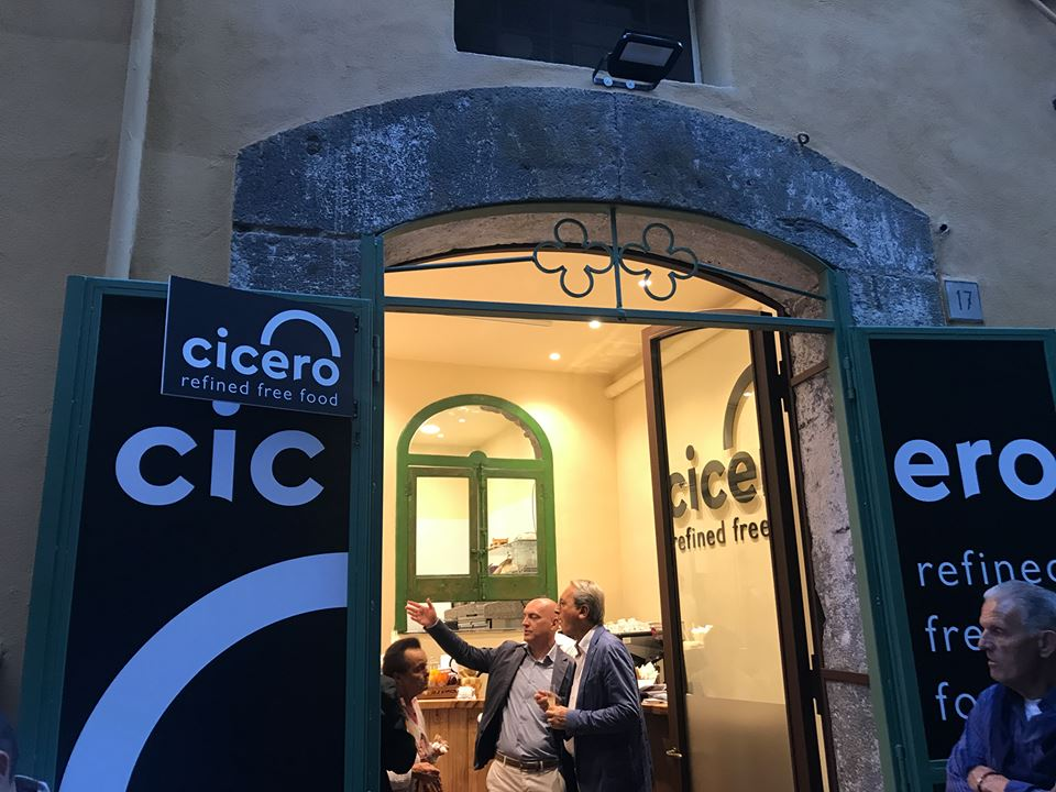 Cicero, l'ingresso