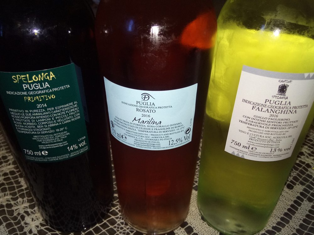 Controetichette Vini di Spelonga