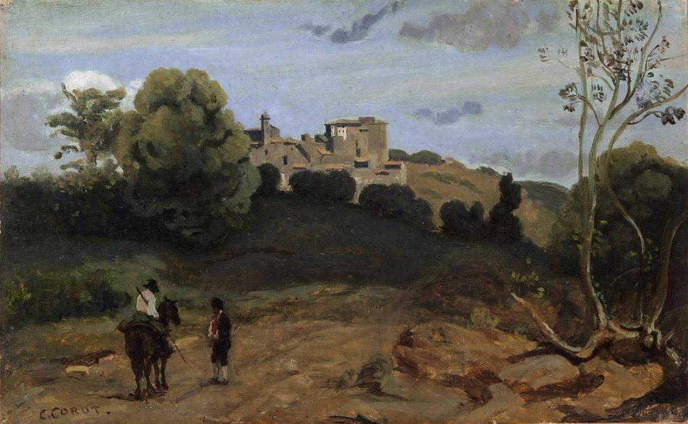 Corot Panorama di Genzano