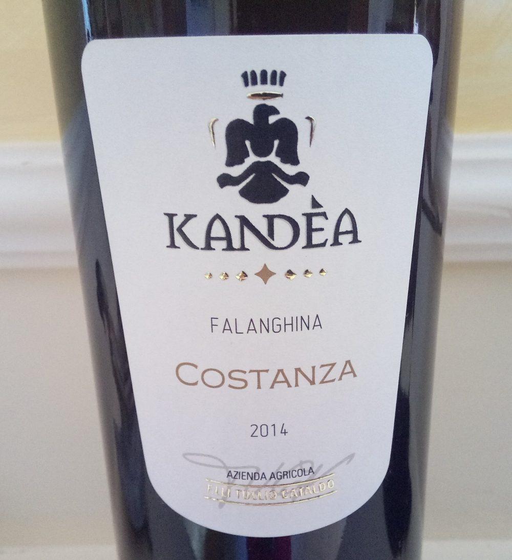 Costanza Falanghina Daunia Igp 2014 Kandea