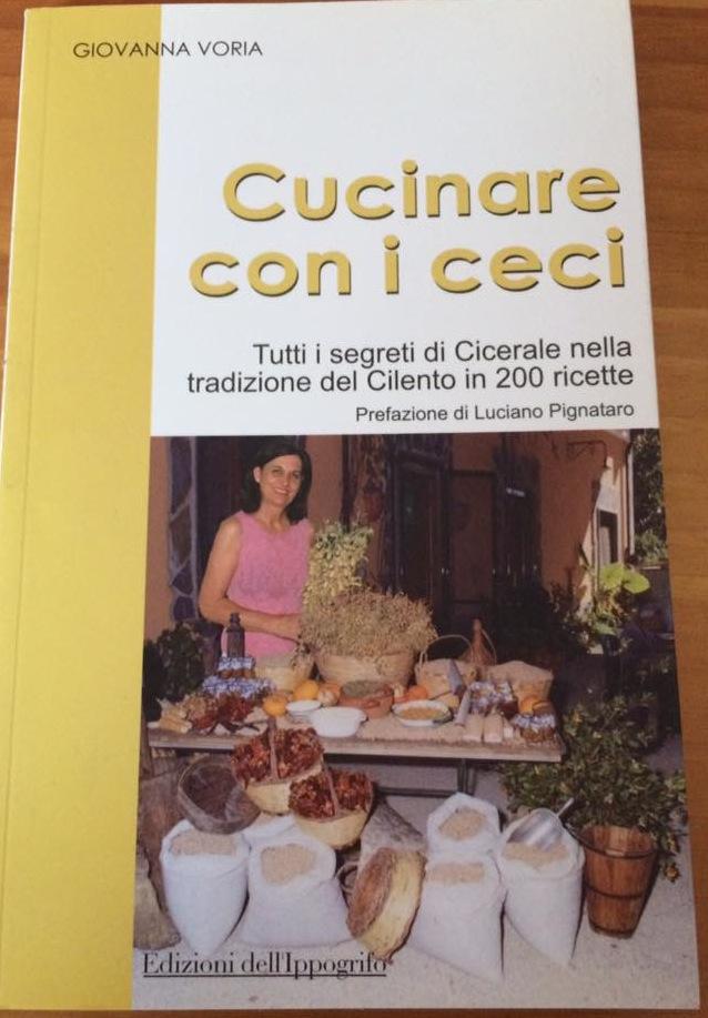 Cucinare con i ceci edito da Ippogrifo 2008