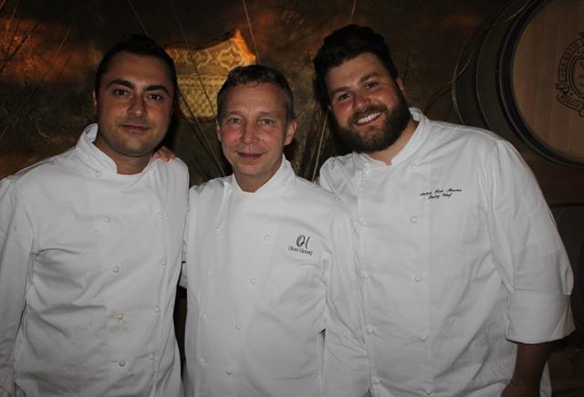 Daniele Corona, Oliver Glowig e Andrea Riva Moscara