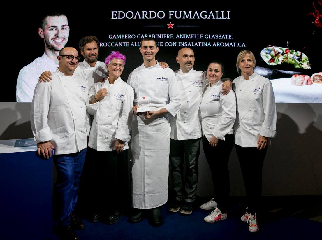 Edoardo Fumagalli con la Giuria