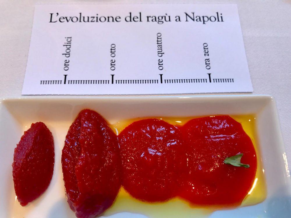 Evoluzione del ragù a Napoli