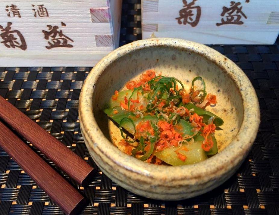 Sushi Sho - Leek, Spring Onion e Fish Eggs