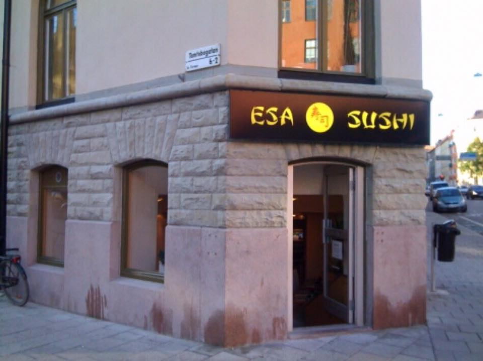 ESA Sushi - Gli Esterni