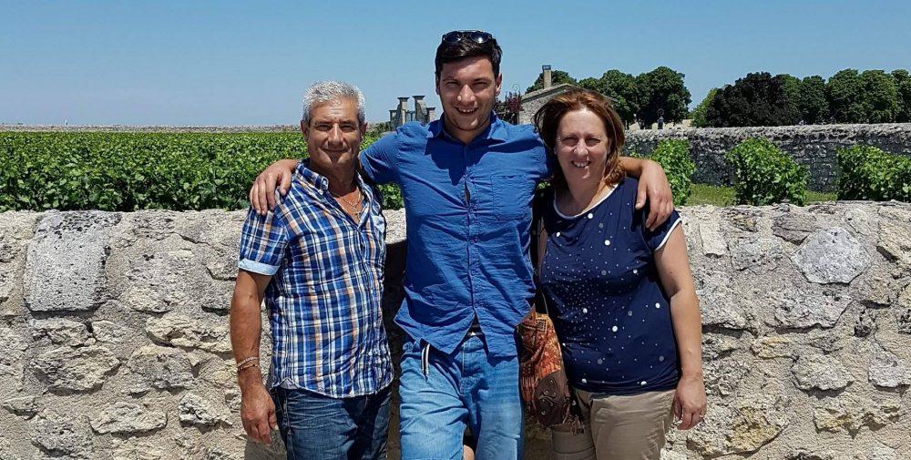 Giovanni e Carmine Piccirillo con Claudia Palumbo