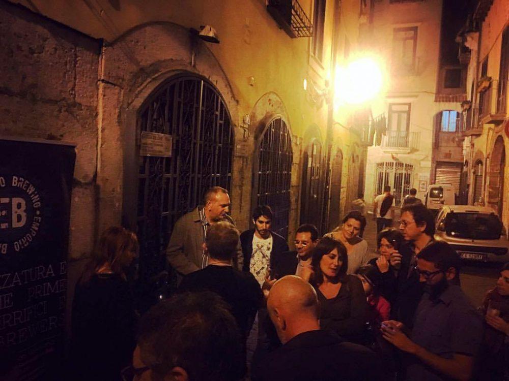 Hildegard Day 2017 a Salerno. L'abbinamento del sigaro Toscano alla birra. Credits to BAI Salerno