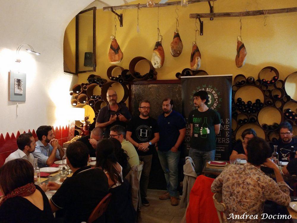 Hildegard Day 2017 a Salerno. Pino Adinolfi, Alfonso Del Forno, Alessio Manzo e Ferdinando Lonardo