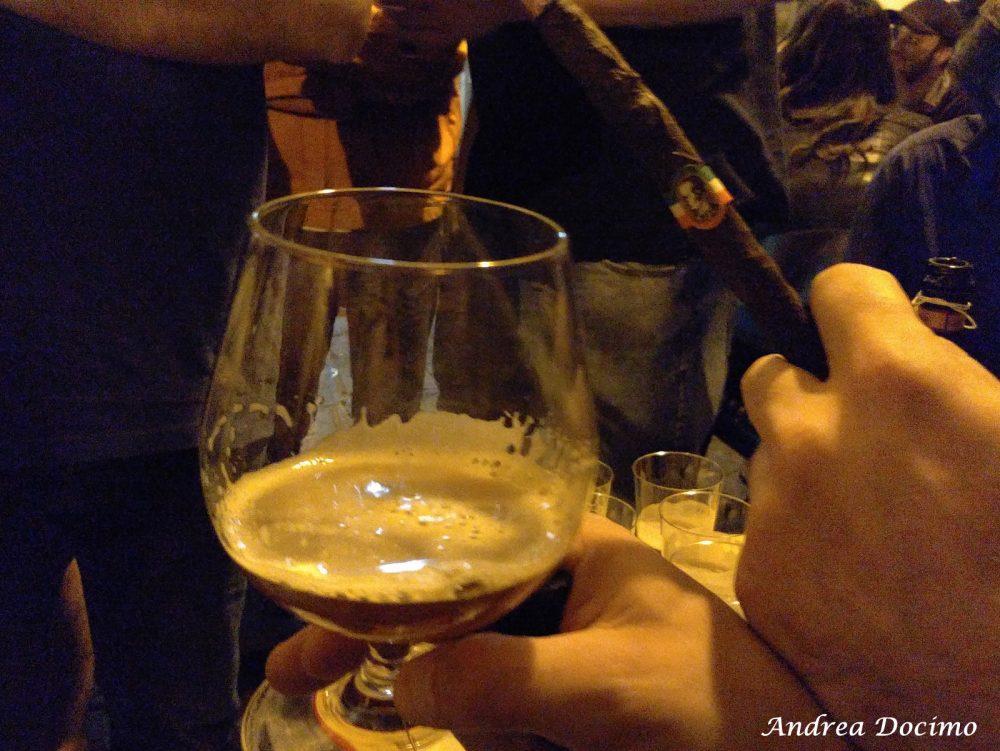 Hildegard Day 2017 a Salerno. Sigaro Toscano Originale e birra