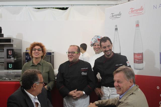 I Maestri in cucina Ferrarelle con Angelo Troiani e Pasqualino Rossi