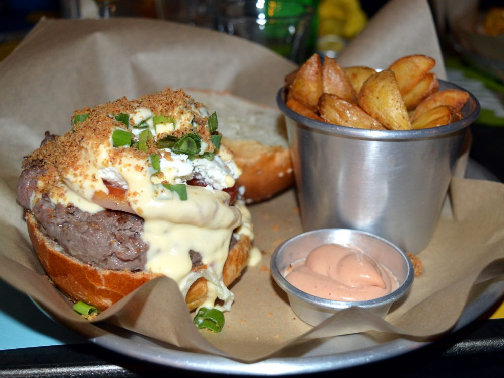Il panino di Lelena Burger ad Aversa
