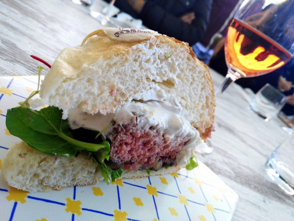Il panino presentato da Gigione di Pomigliano d'Arco a LSDM 2017