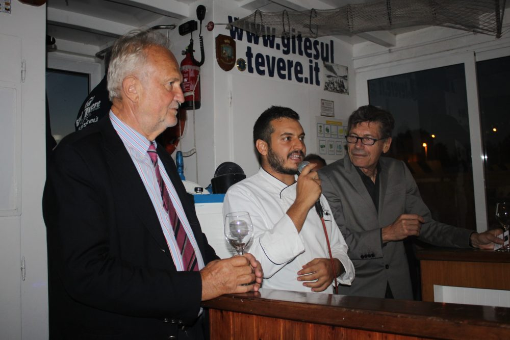 Il sindaco Esterino Montino, Marco Claroni e Luigi Cremona