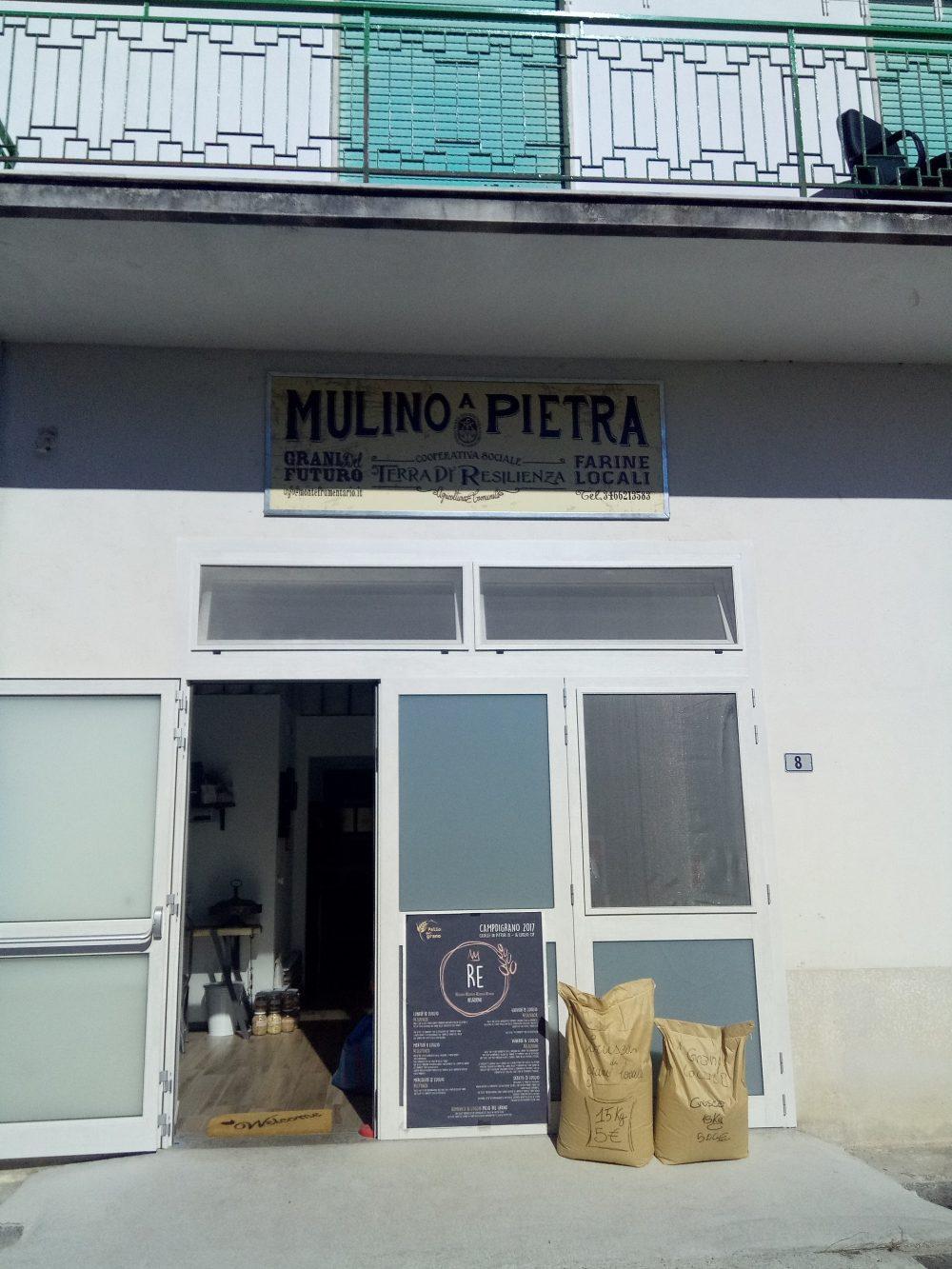 Ingresso Terra di Resilienza Mulino a Pietra