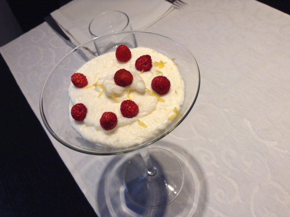 La Cantinella, Villammare, sciu' al limone e fragoline di bosco