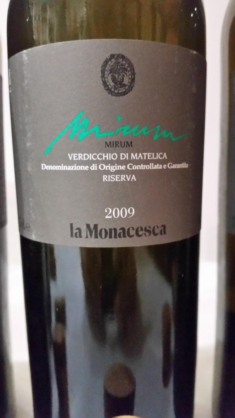 La Monacesca - Verdicchio di Matelica Mirum 2009