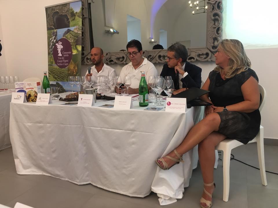 La degustazione di Falanghina con Gerardo Vernazzaro, Tommaso Luongo e Monica Coluccia