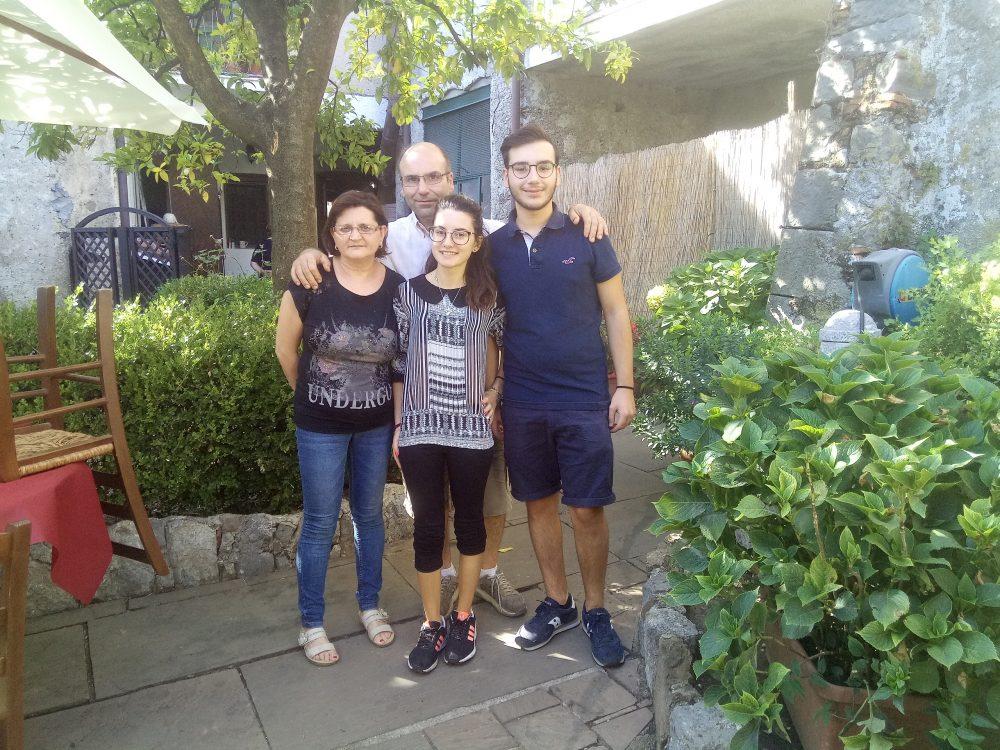 La famiglia Filizola al completo