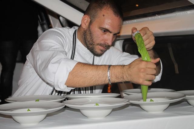 Lo chef Marco Martini