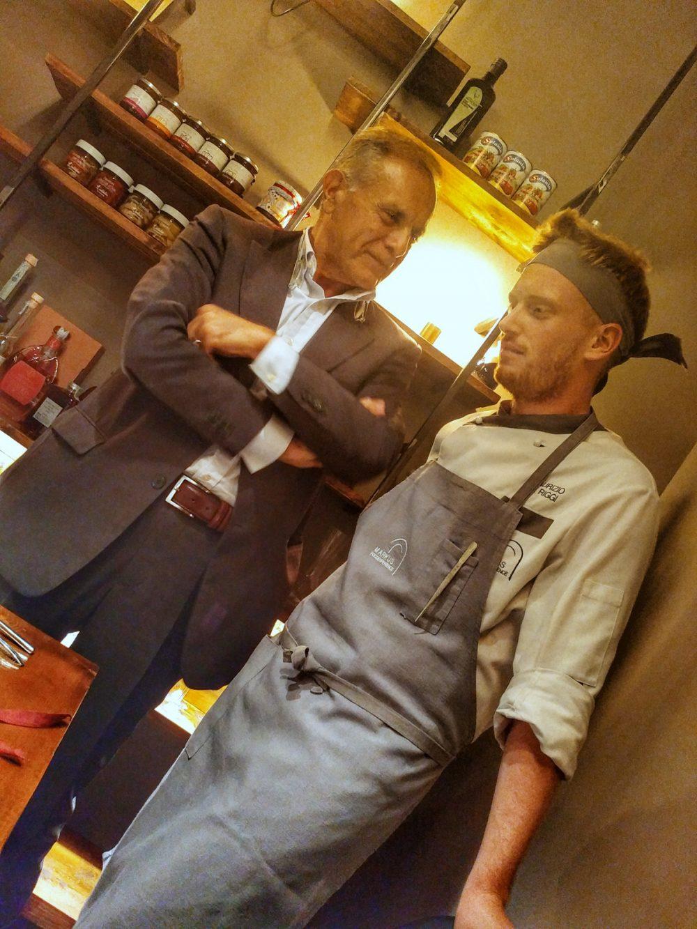 Markus Food Experience a San Paolo Belsito NA. Tommaso Esposito e Maurizio De Riggi