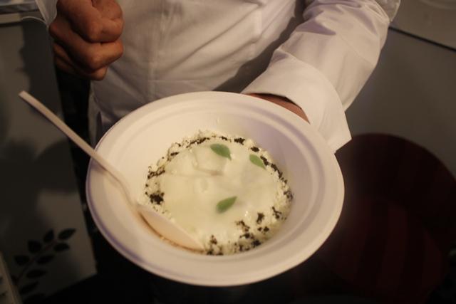 Mozzarella di bufala IN.Consistenza di chef Apreda