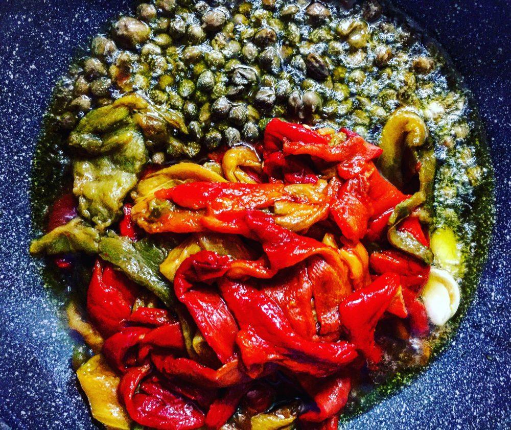 Peperoni gratinati, ingredienti